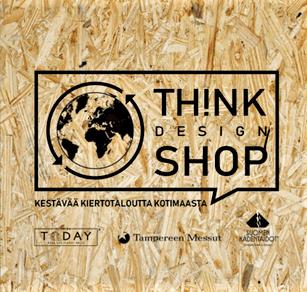 Th!nk Design Shop tapahtuma lähestyy Tampereella