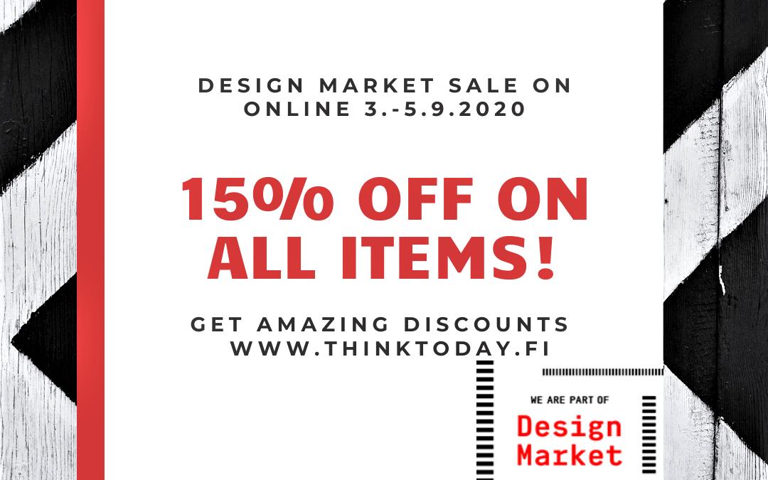 Huomenna alkaa Design Market SALE